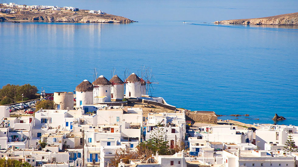 Mykonos , a superb greek island