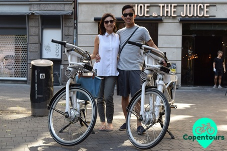 Bike and walking tours in Copenhagen, Denmark