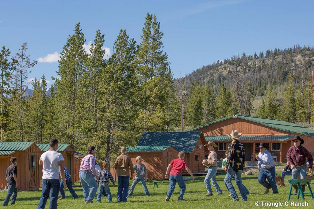 Best vacations at dude ranches