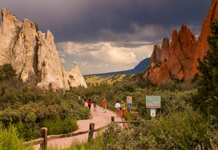 Colorado attractions, top destinations selection