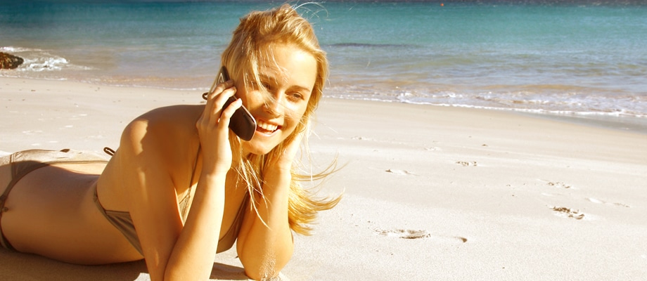 Unlimited international calling plans while travelling