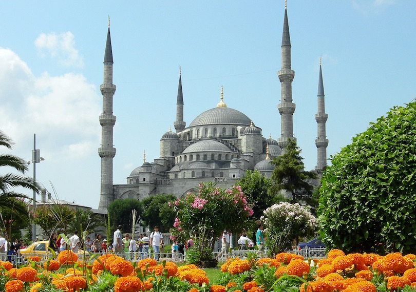 Turkey and Istanbul attractions and top destinations selection