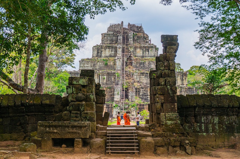 Cambodia attractions and top destinations selection