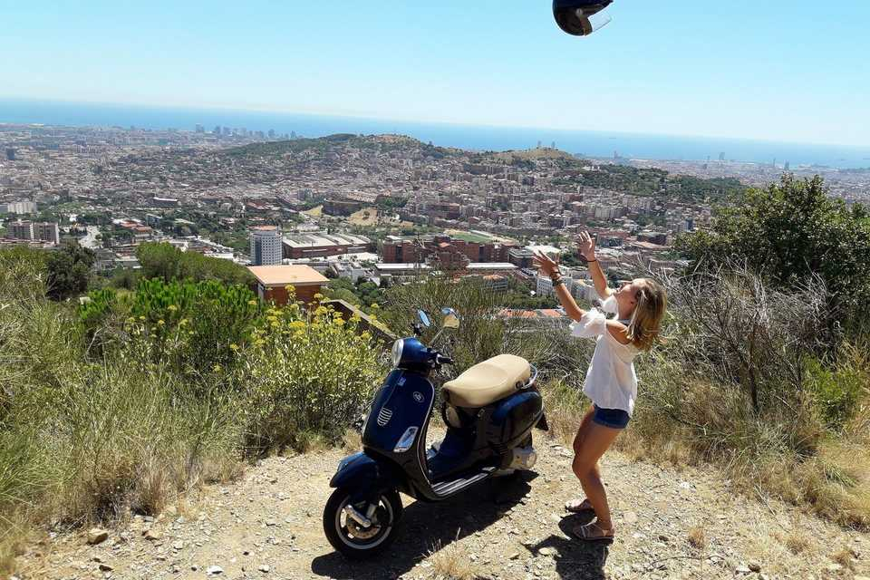 The best Barcelona motorcycle routes in a couple