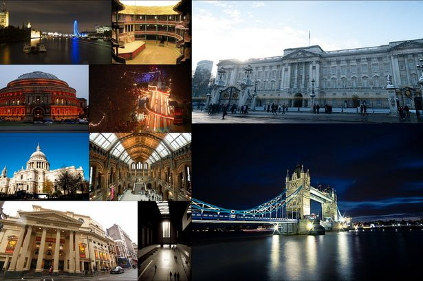 Paris and London attractions for photographers